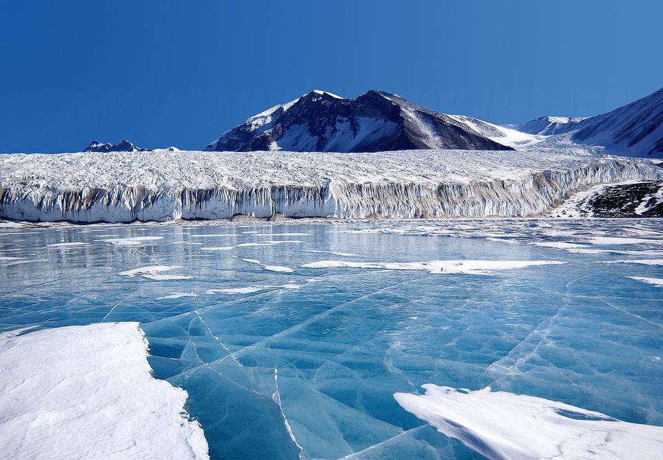 Antarktische Gletscher