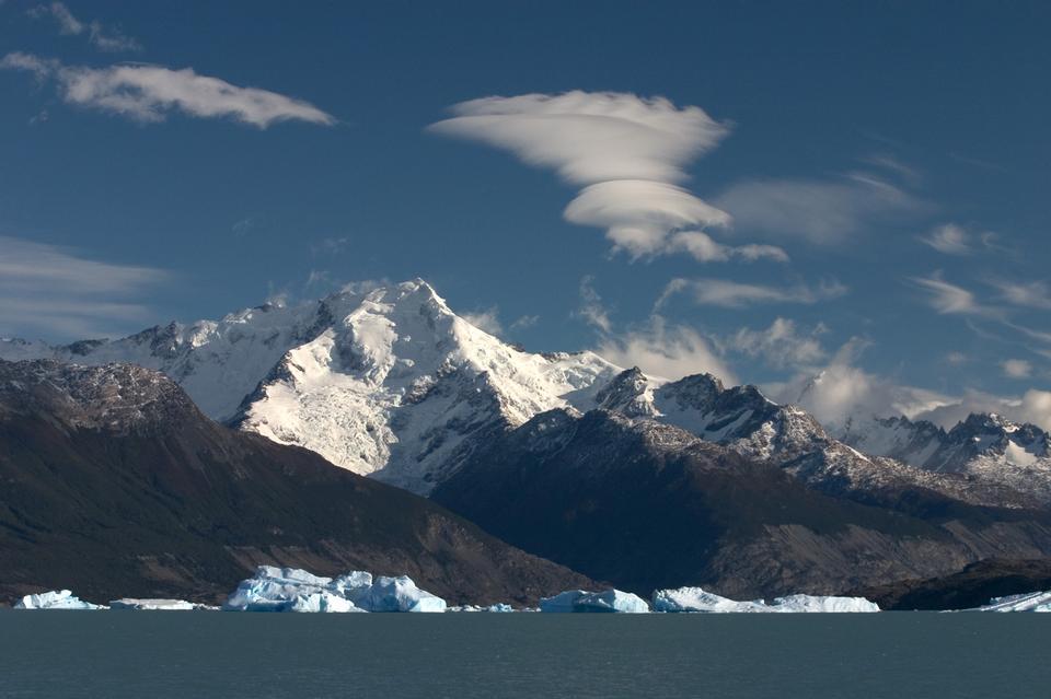 阿根廷湖的北部手臂