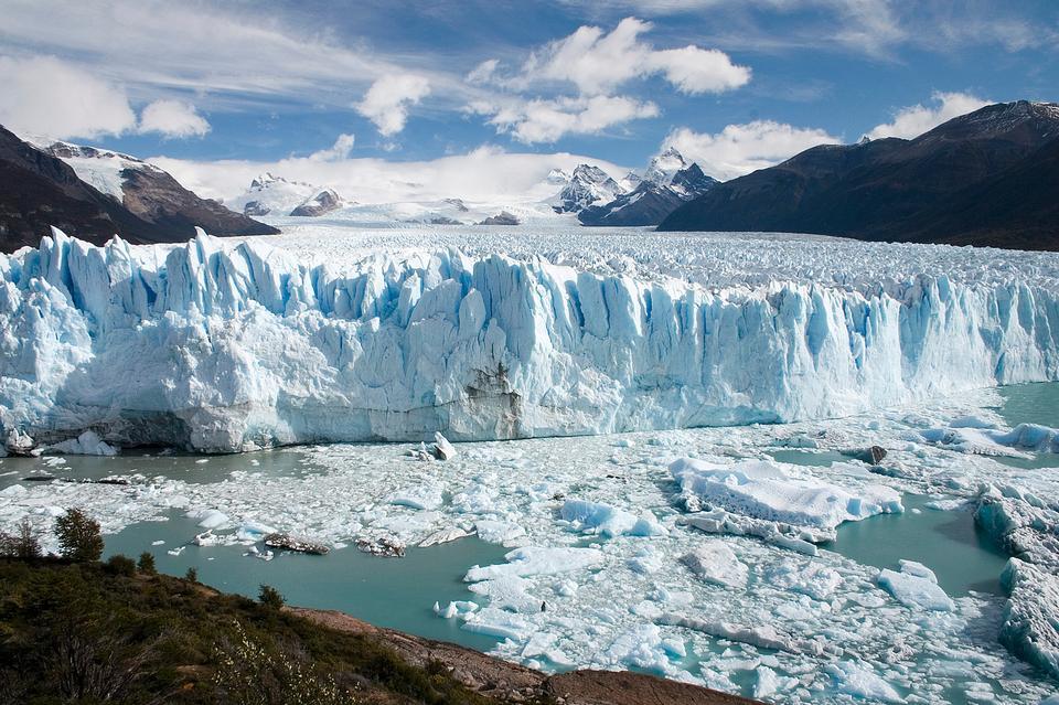 ペリト·モレノ氷河パタゴニアアルゼンチン