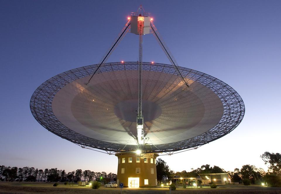 オーストラリアのパークス望遠鏡