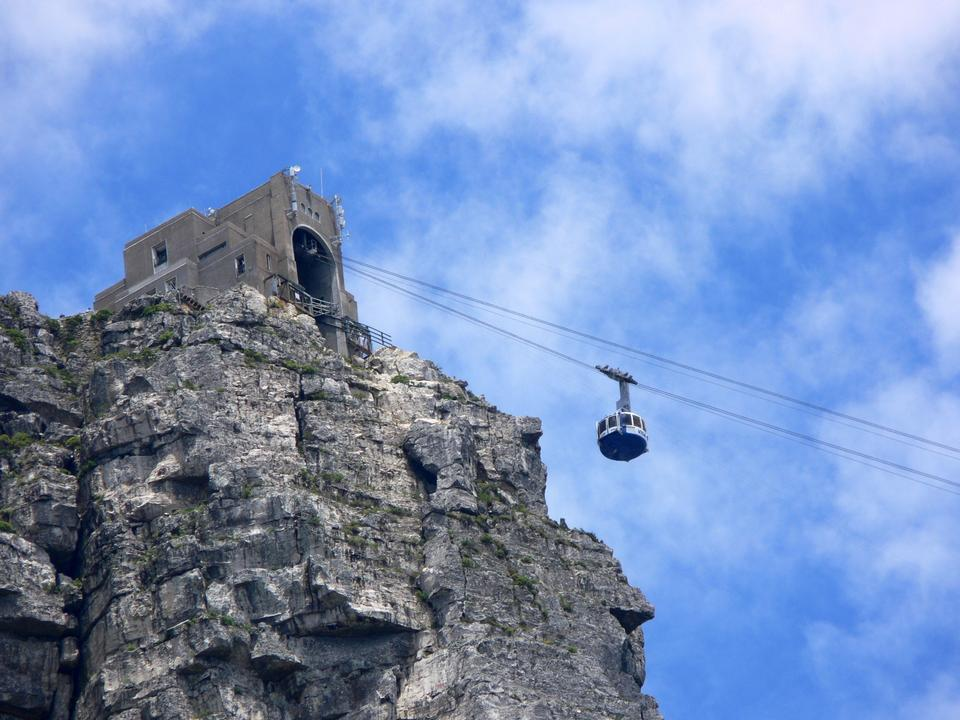 Table Mountain cable-way Cape Town South Africa
