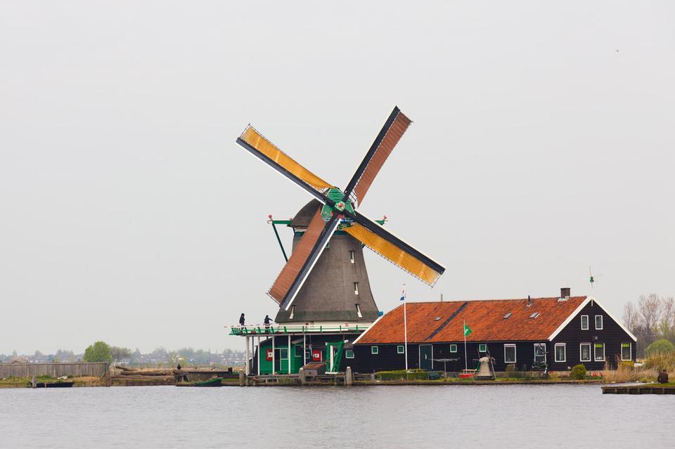 Moulins à vent Pays-Bas