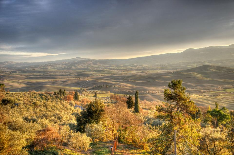 paisaje Vally de la Toscana