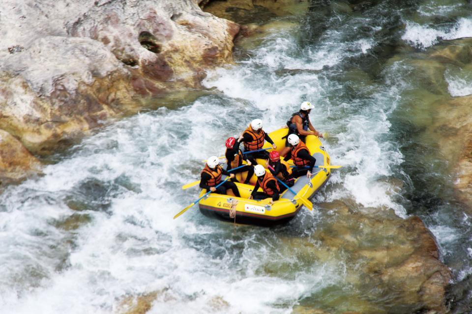 Rafting en Minakami