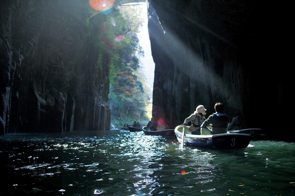 Takachiho Gorge Escursione in barca