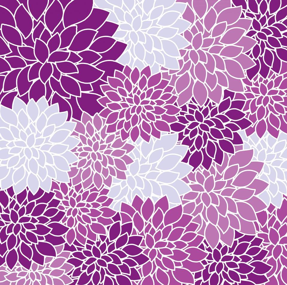 Vintager Blumentapeten-Hintergrund