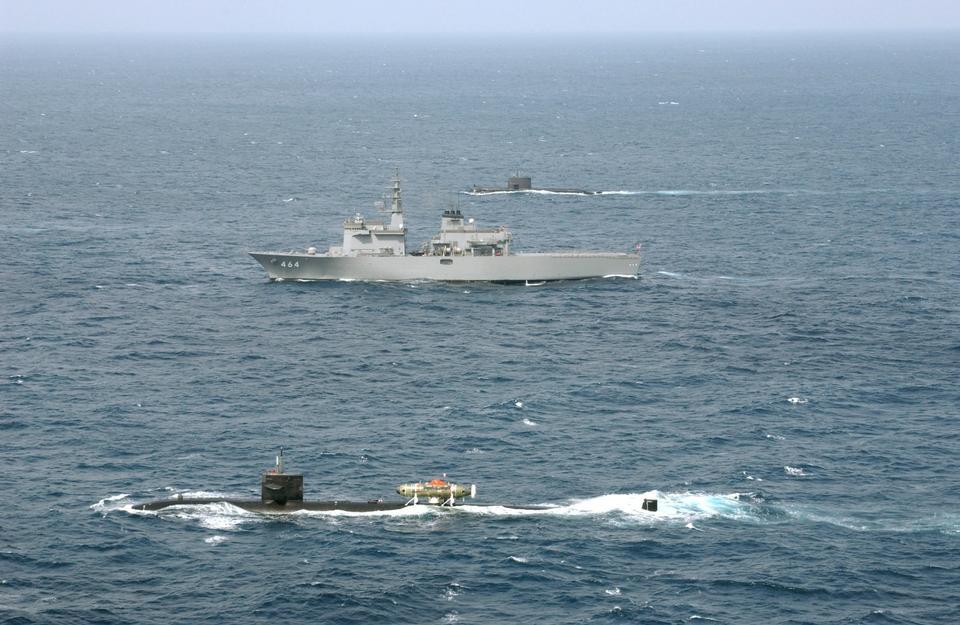 The fast attack submarine, USS La Jolla