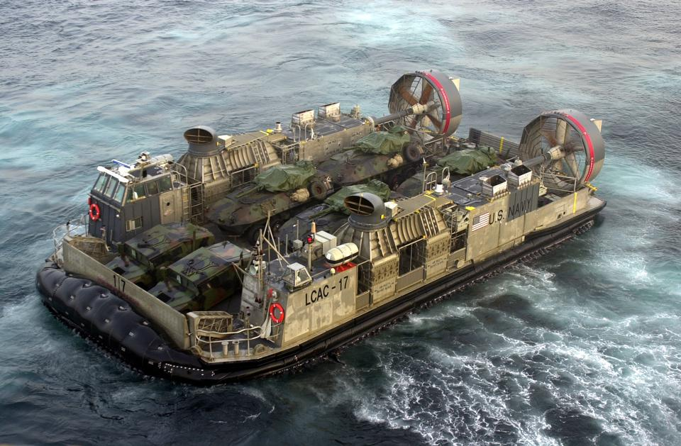 Coussin US Navy Landing Craft Air LCAC
