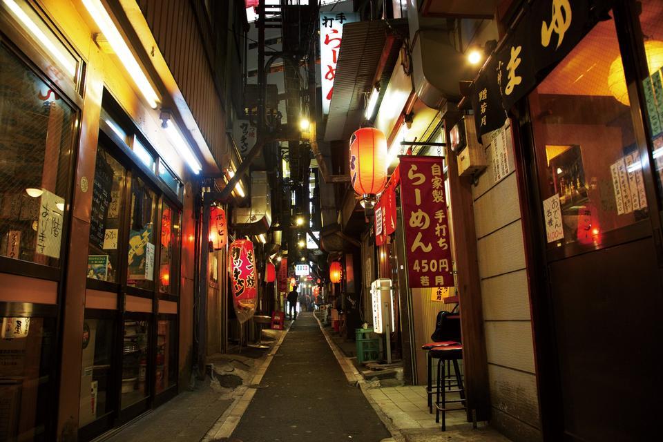 思い出横丁新宿東京