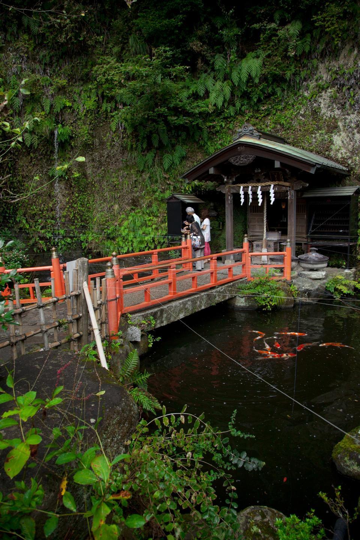 De Zeniarai Benzaiten Ugafuku Santuario