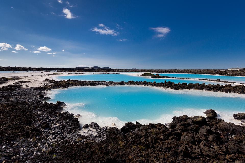 Blue Lagoon in Iceland in Reykjavik