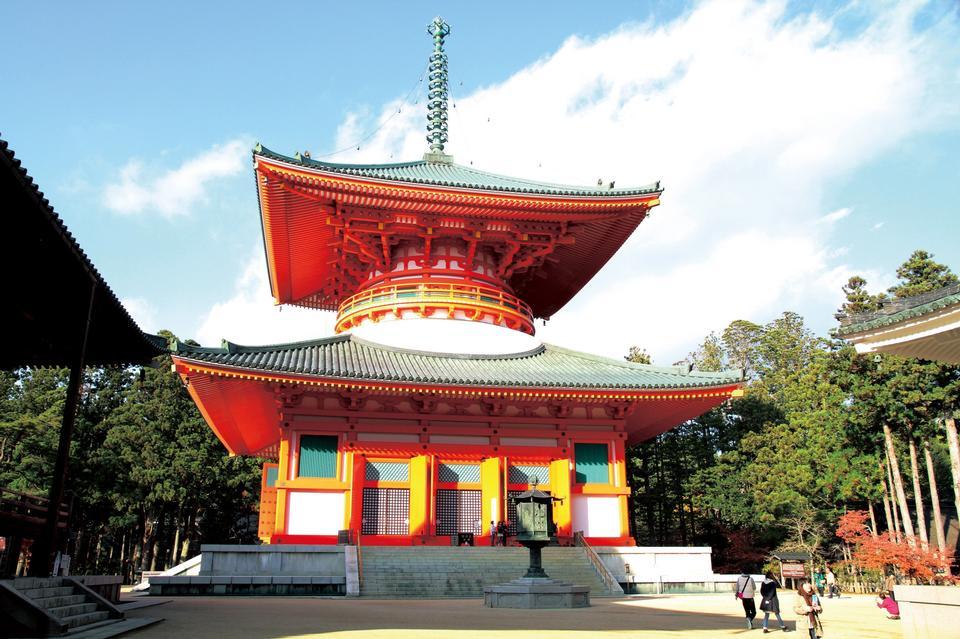 Pagode Koyasan, Kongobuji Temple Japon