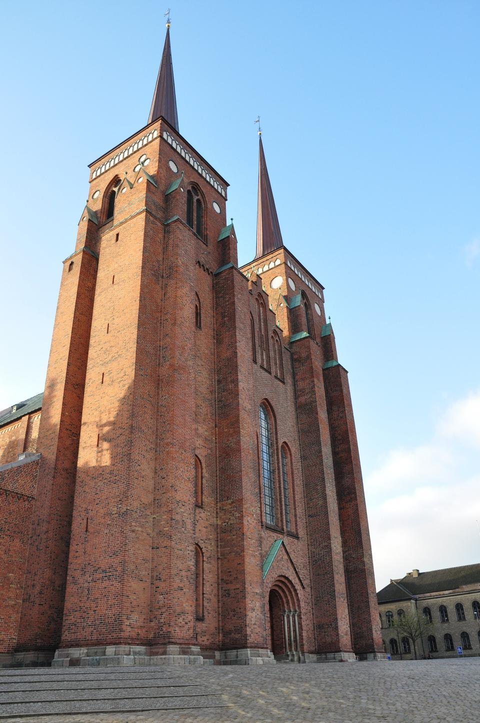 Cathédrale de Roskilde, l'église de la danoise