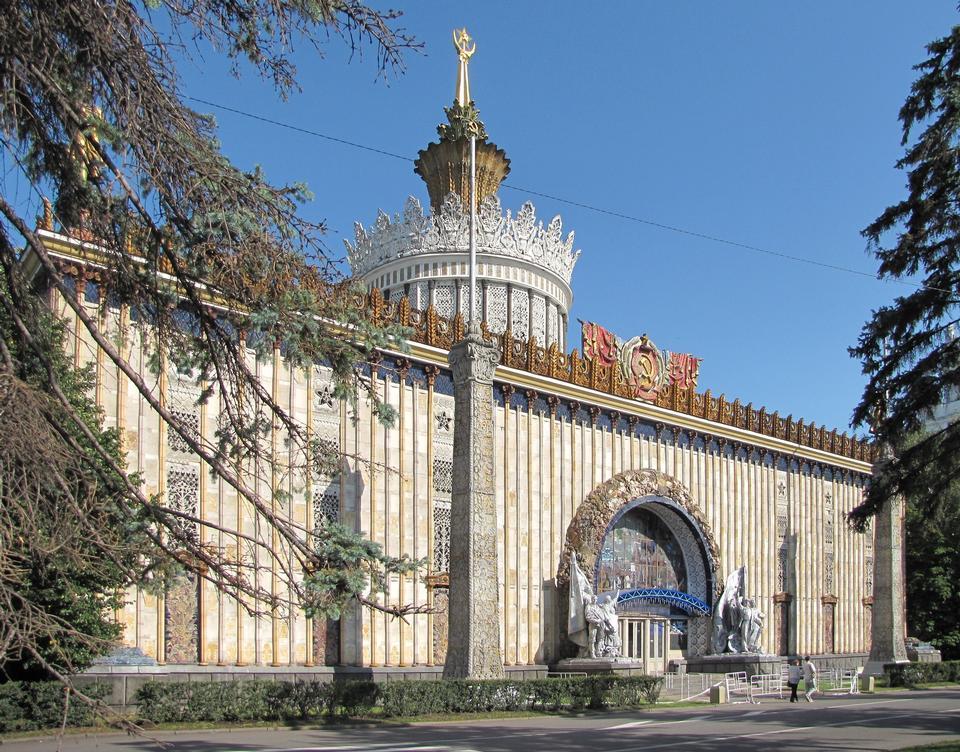Ukrainian pavilion at the Exhibition Center