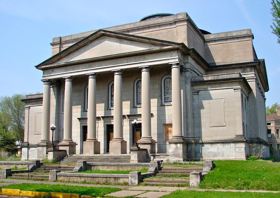 Первая церковь Христа, ученый Рок-Айленд, штат Иллинойс