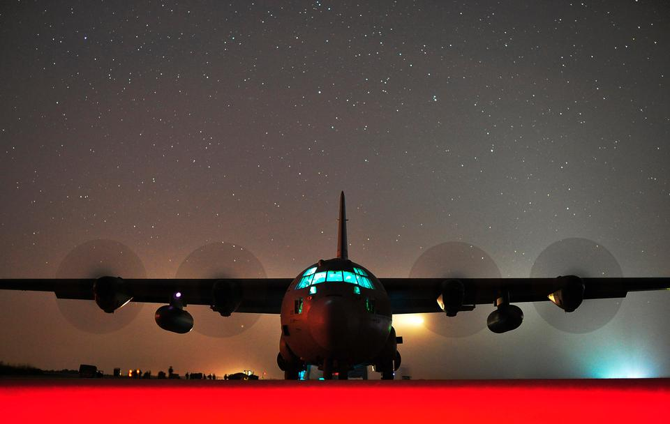 C-130J Hercules Air Force Base