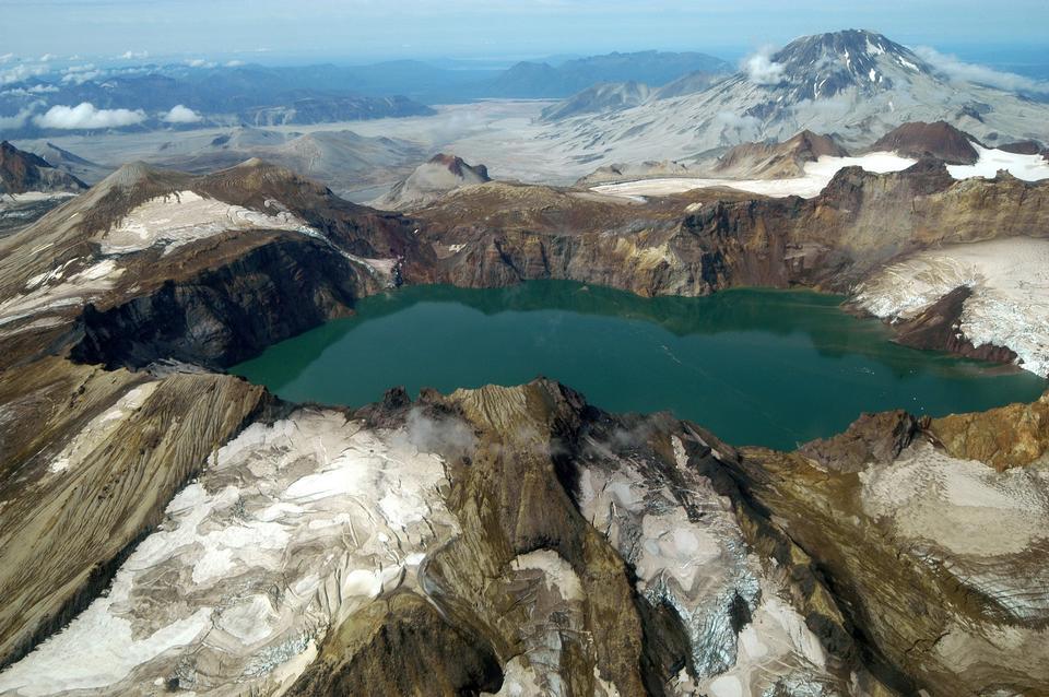 卡特邁考爾德,冰川和山格里格斯