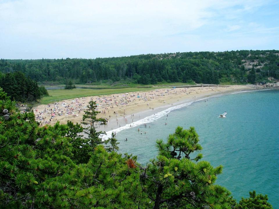 アカディア国立公園ビーチ