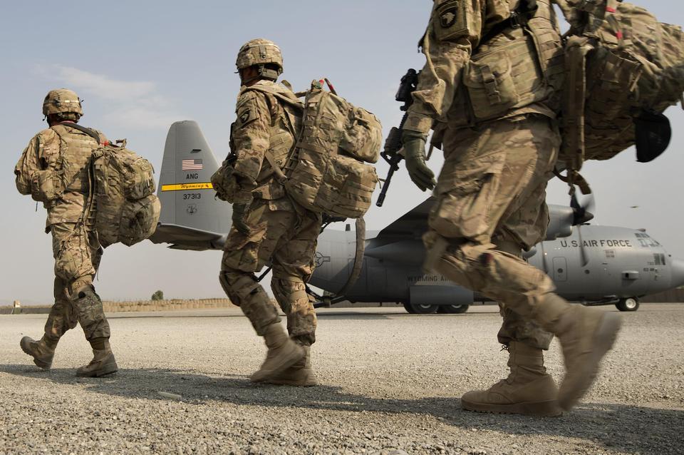 Armée 101st Airborne Division soldats