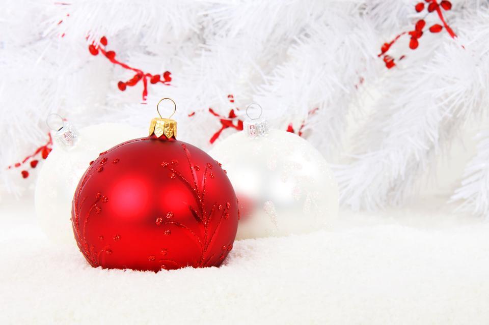 Red adornos de navidad