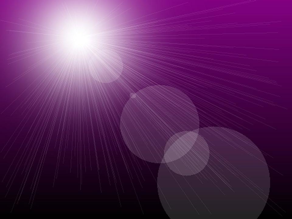 紫色の背景の上にサンバースト