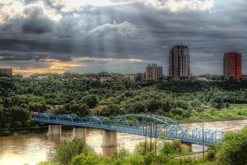 Cityscape Edmonton Canada
