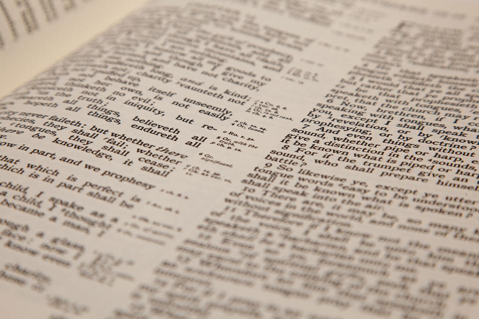 Texto Bíblia