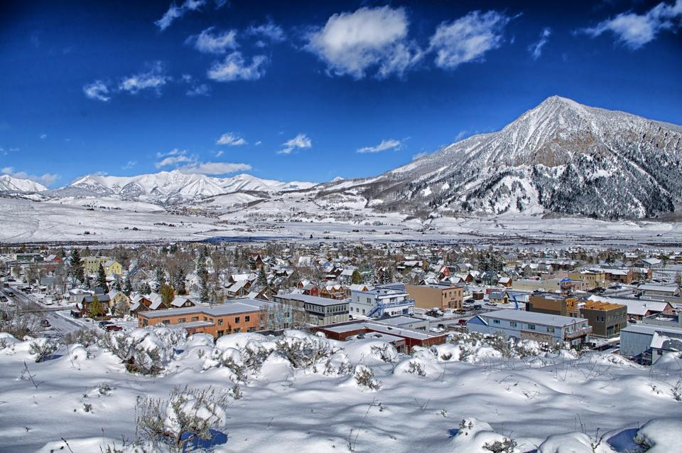 Crested Butte Town Colorado
