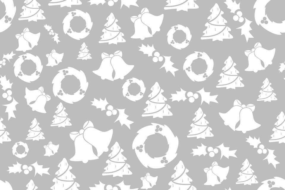 灰色のクリスマスの背景