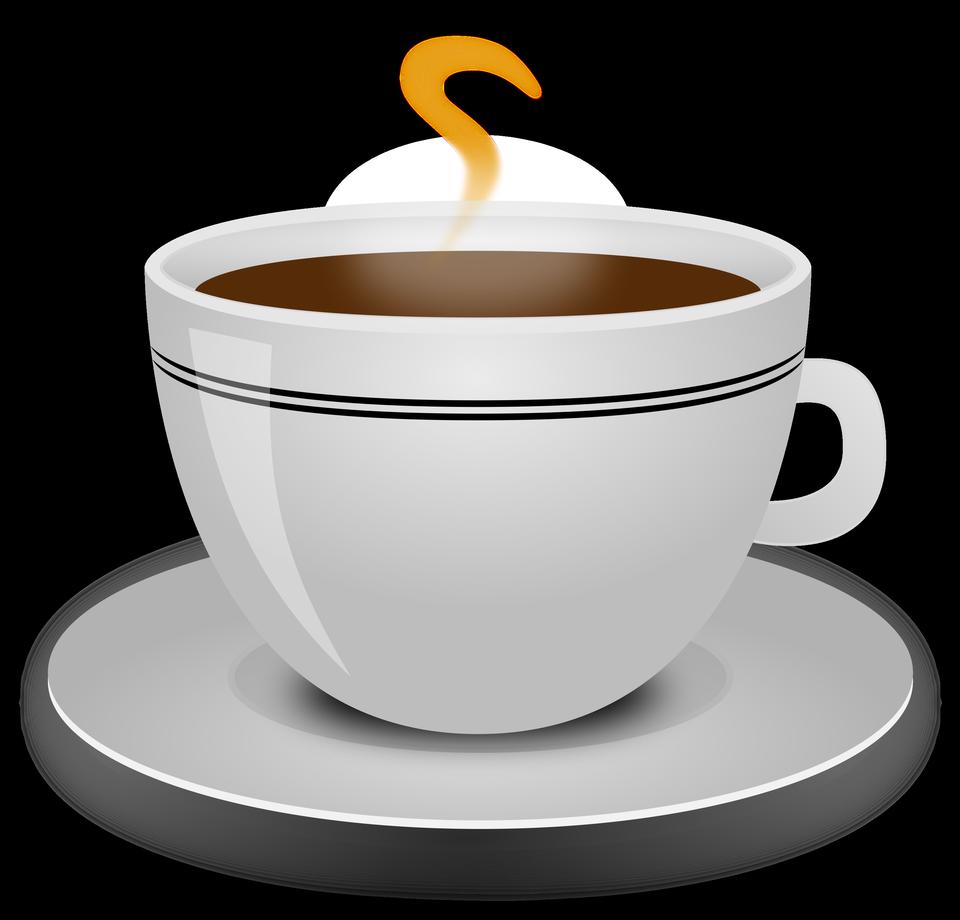 Illustration d'une tasse de café chaud