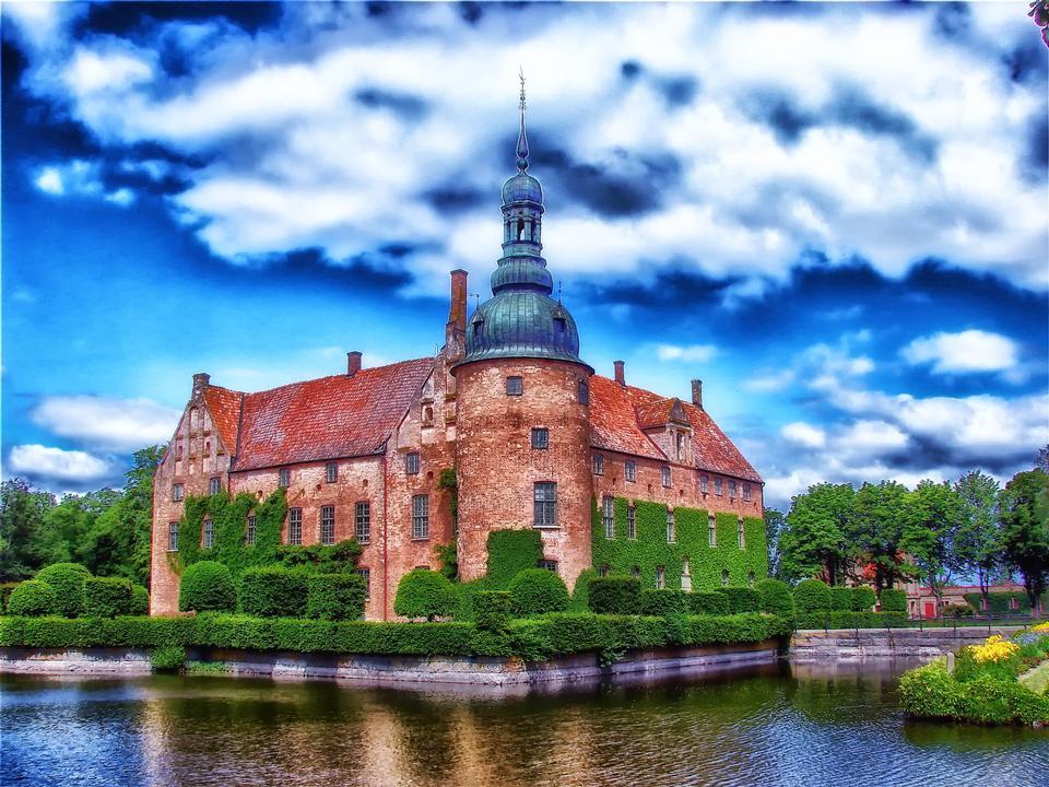 Vittskovle城スウェーデン