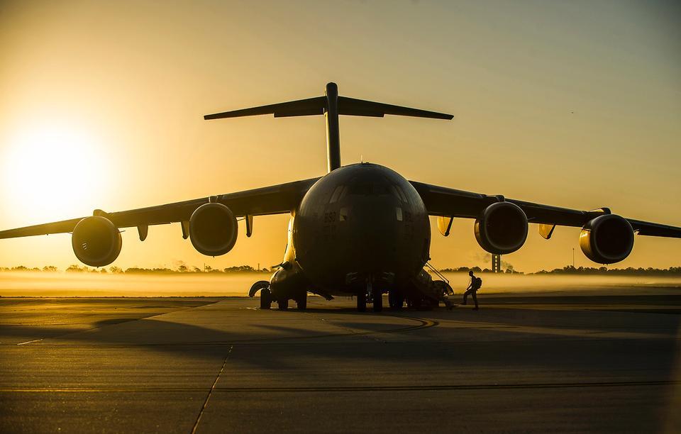 空運聯隊板一架C-17環球霸王III