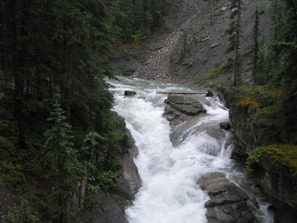 Chutes Athabasca, Alberta, Canada