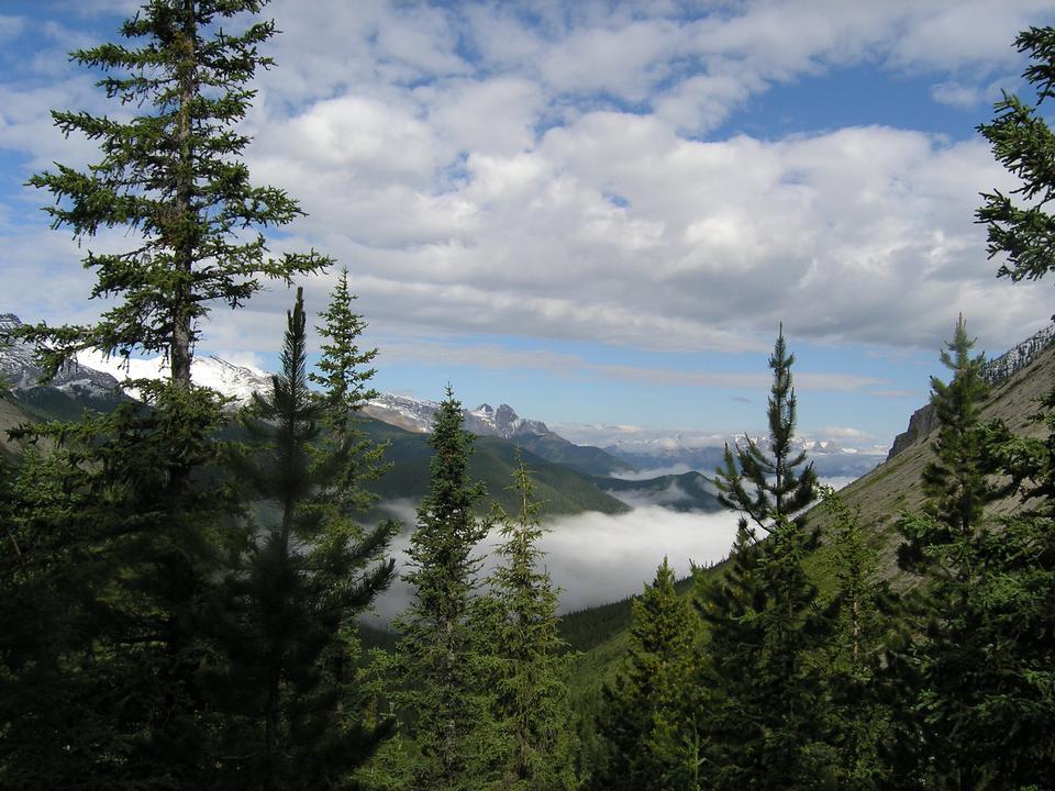 加拿大落基山登山