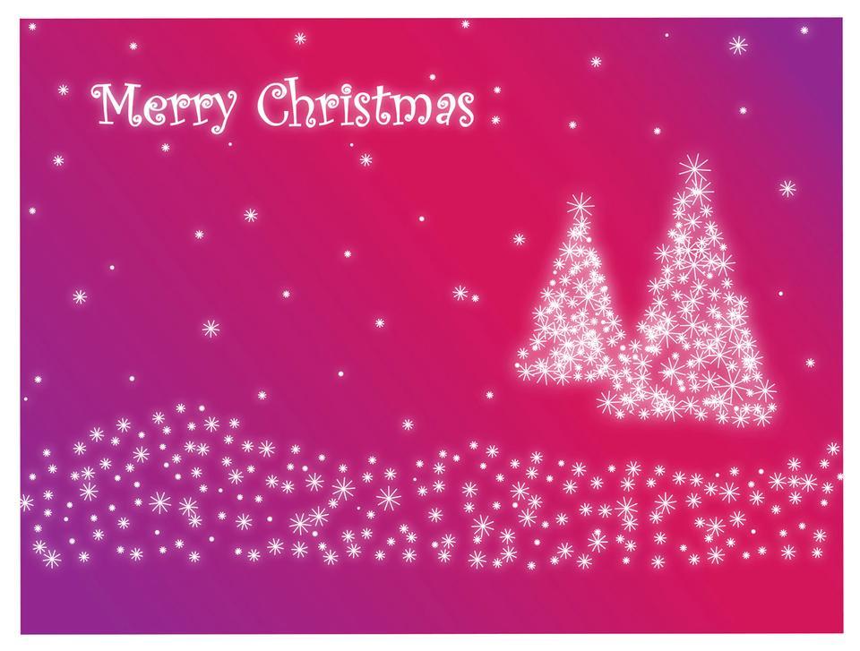 ライラックでメリークリスマス