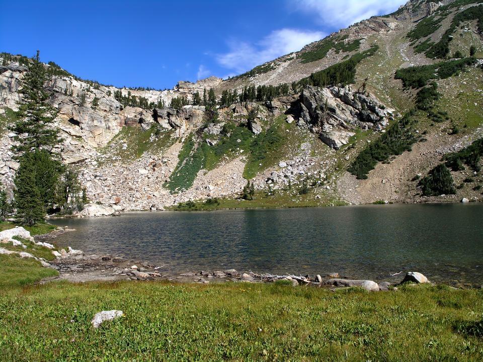 Malerischen Grand Teton Mountains