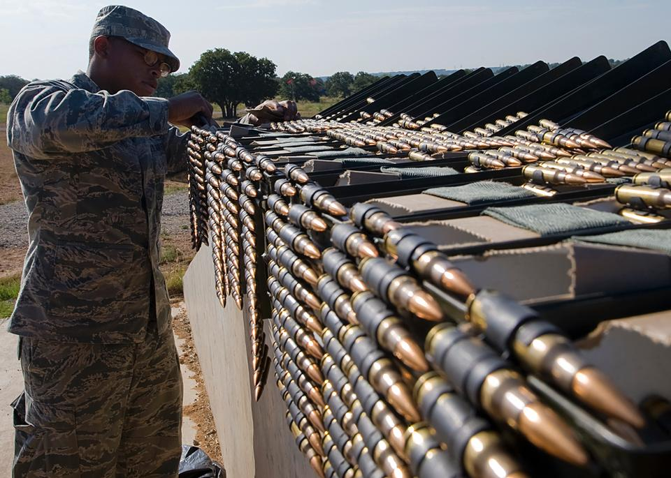 满载M240机枪