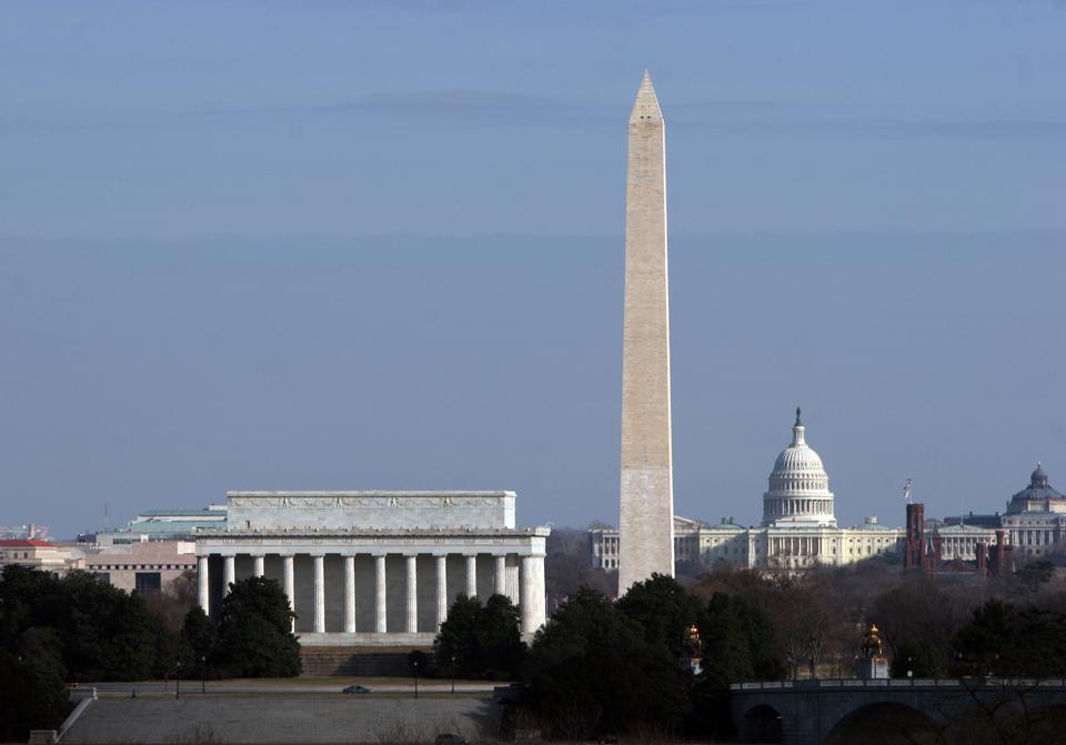 Monumentos Nacionales en Washington, DC