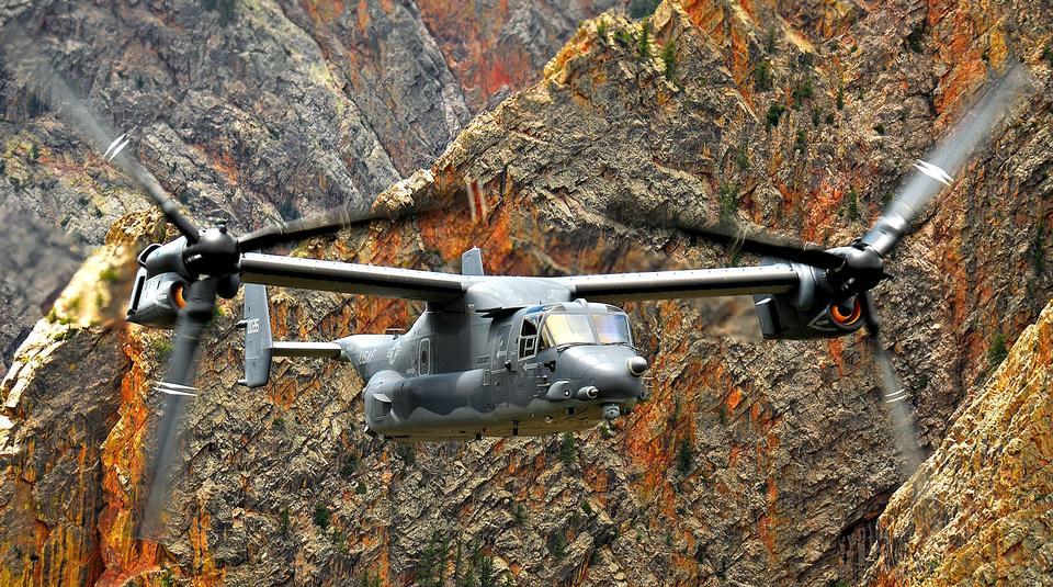 鱼鹰CV-22直升机