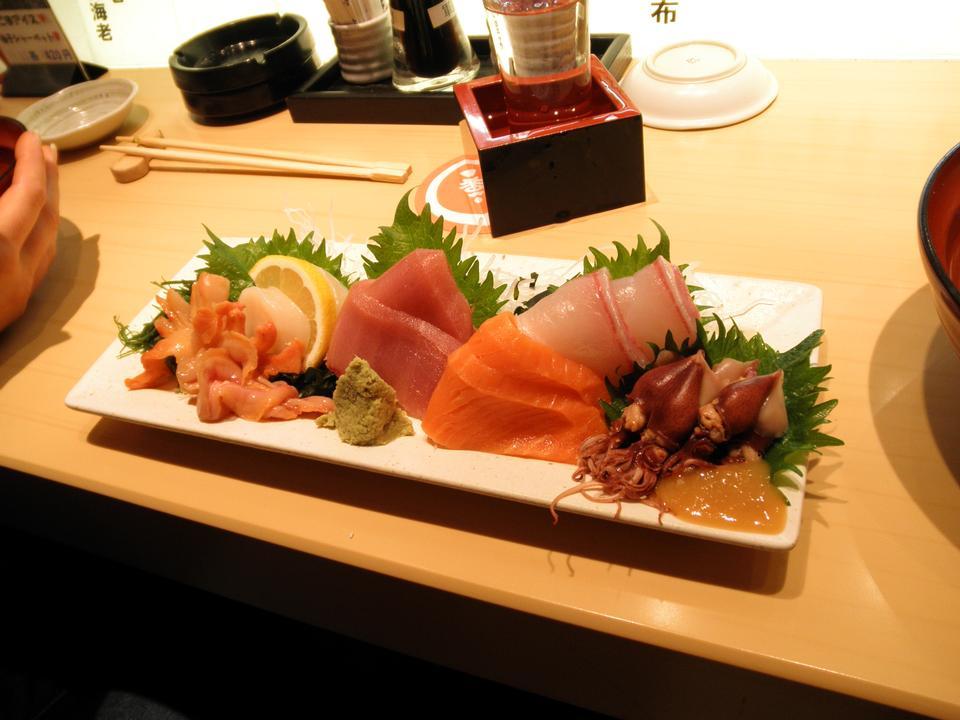 盛り合わせ刺身 - 日本食