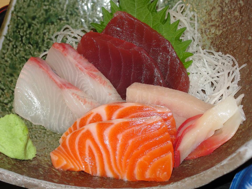刺身歌うプラッター - 日本食