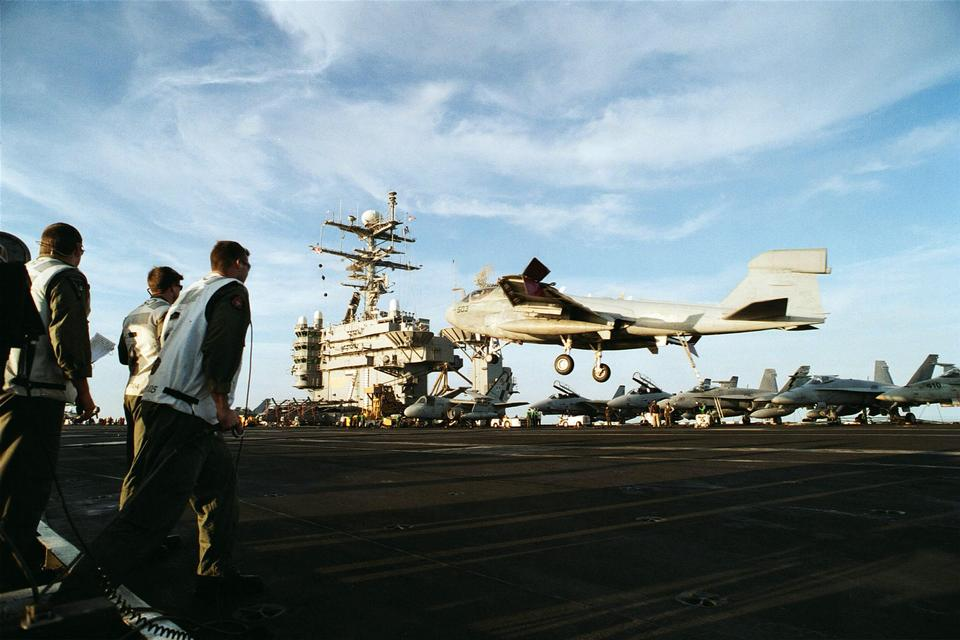 Landing Signal Officers USS Theodore Roosevelt