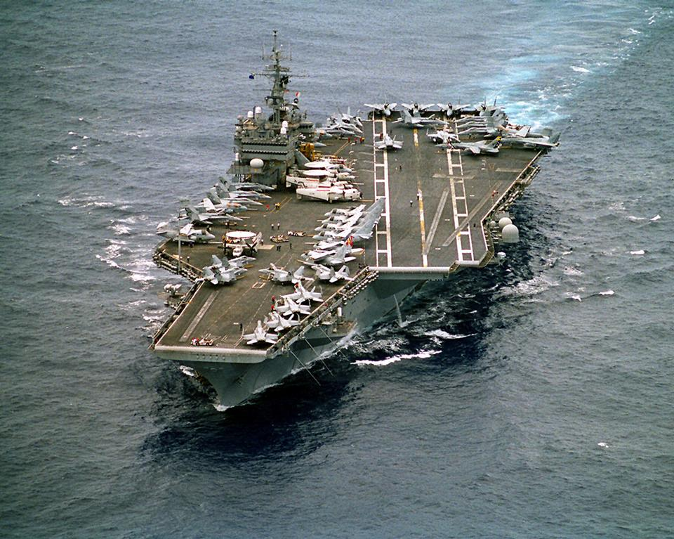 USS Constellation enroute to the Arabian Gulf