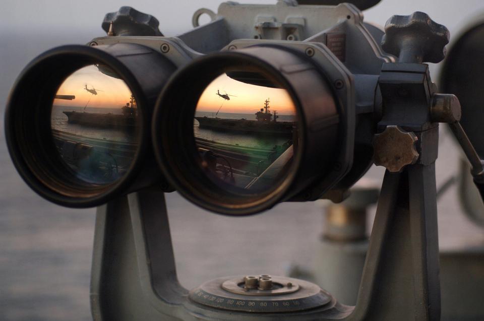 ハリー·S·トルーマンの信号橋の上双眼鏡