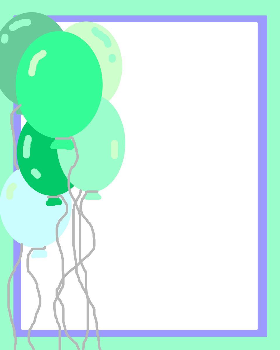 ボーイの誕生日バルーンを招待