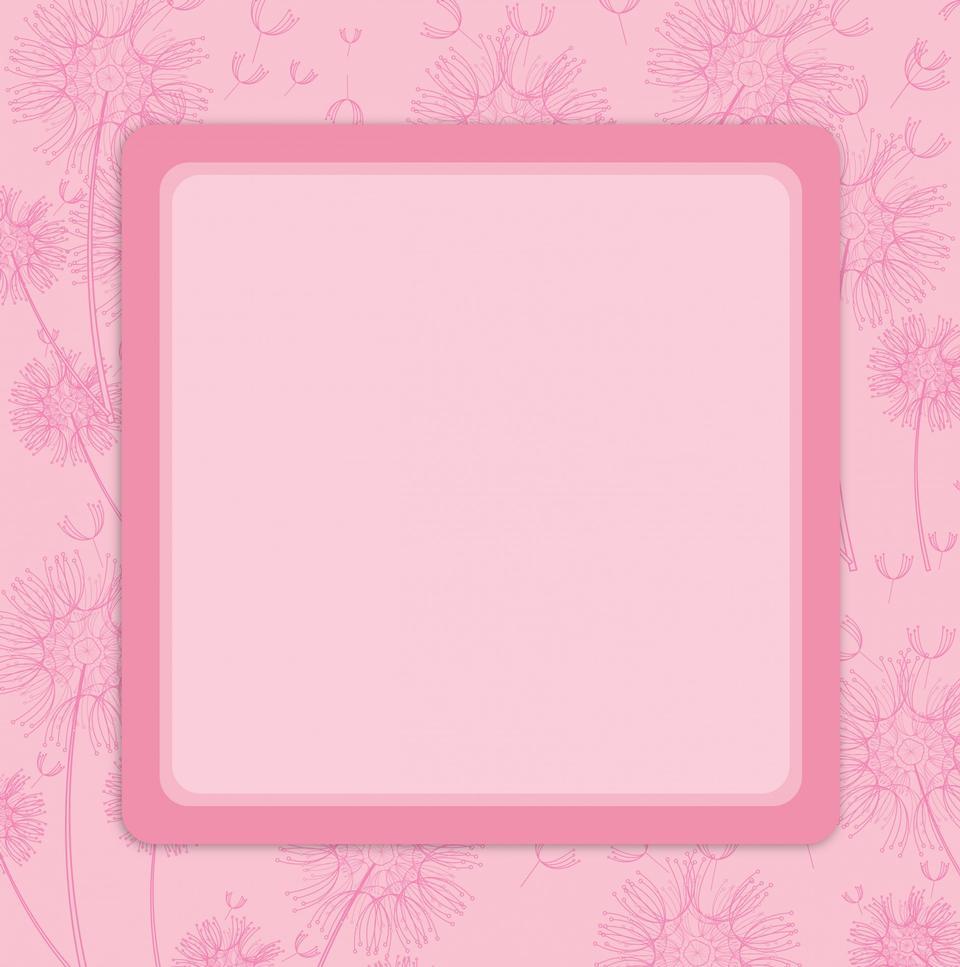 タンポポの招待カード