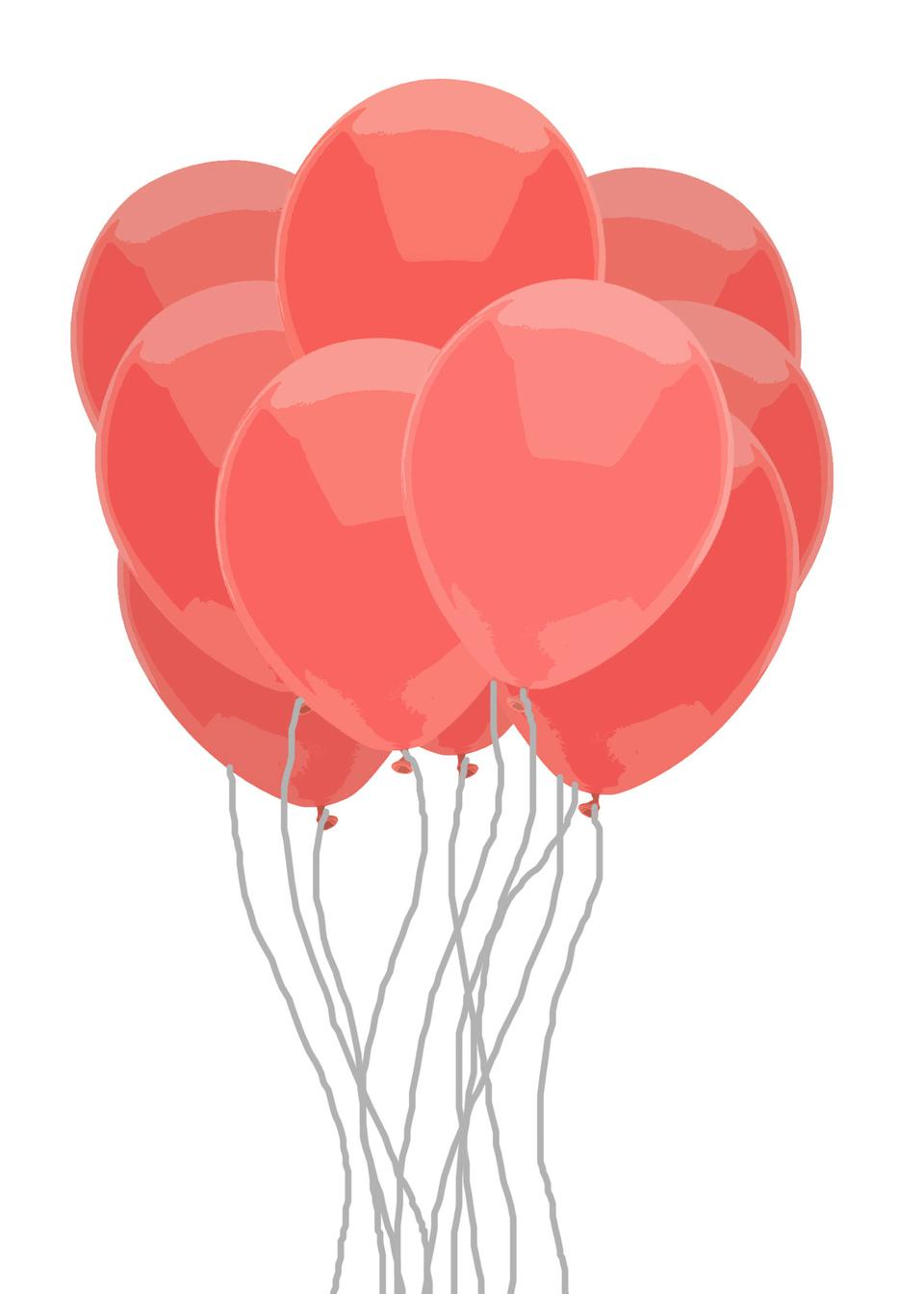 Red Balloon Bunch