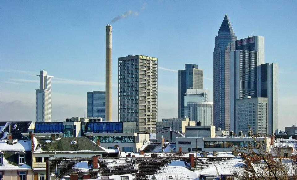 法蘭克福德國摩天大樓