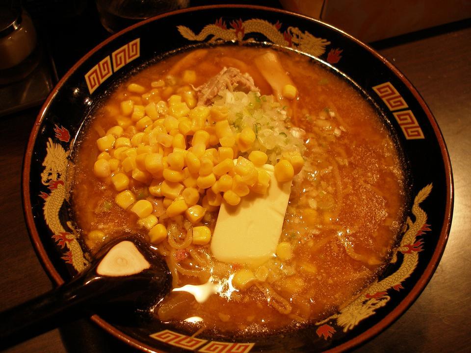 バターコーンラーメン - 日本の麺
