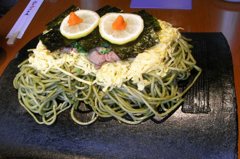 Kawara Soba - Japanese Noodle